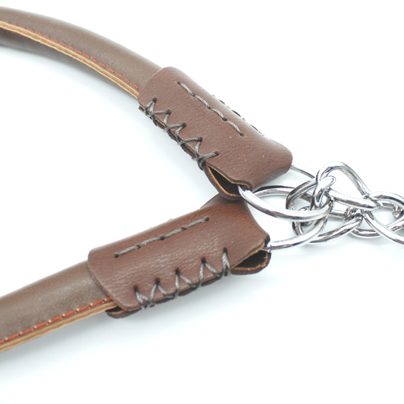 Free Sample Heavy Duty Leather Dog Collar Leash In China Online Website