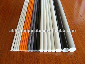 Hohe festigkeit flexible festen fahrrad fiberglas fahnenstange