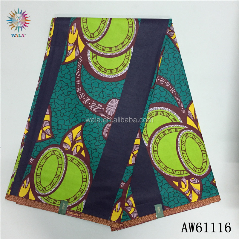 AW61116- (82) New arrival Small MOQ wholesale african wax print fabric