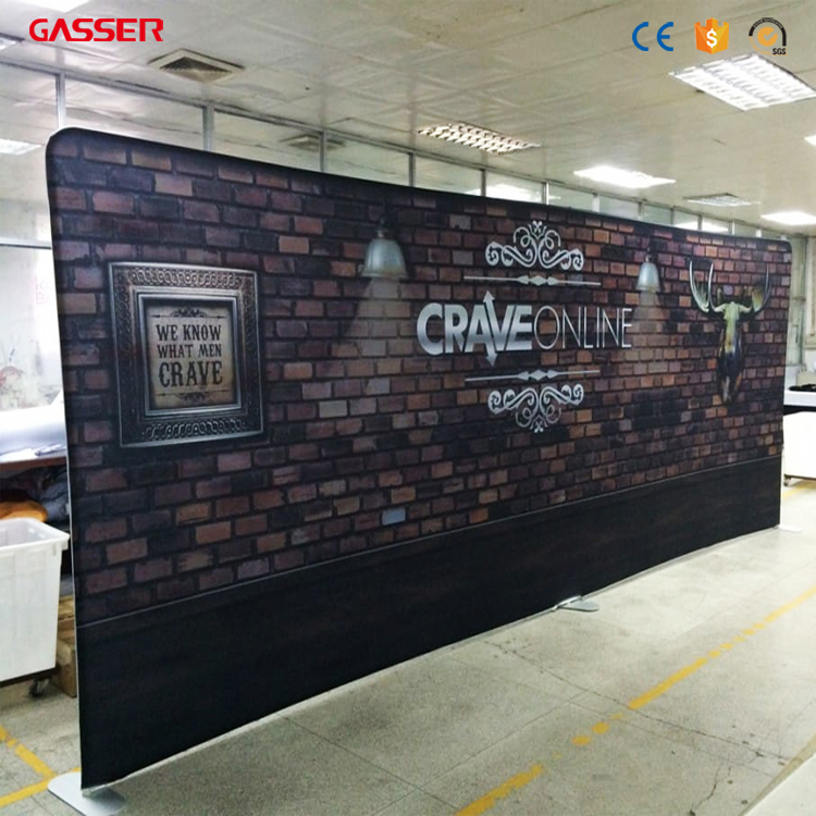 Custom Exhibition Stand Up : Custom exhibition pop up backdrop expo booth display exhibition