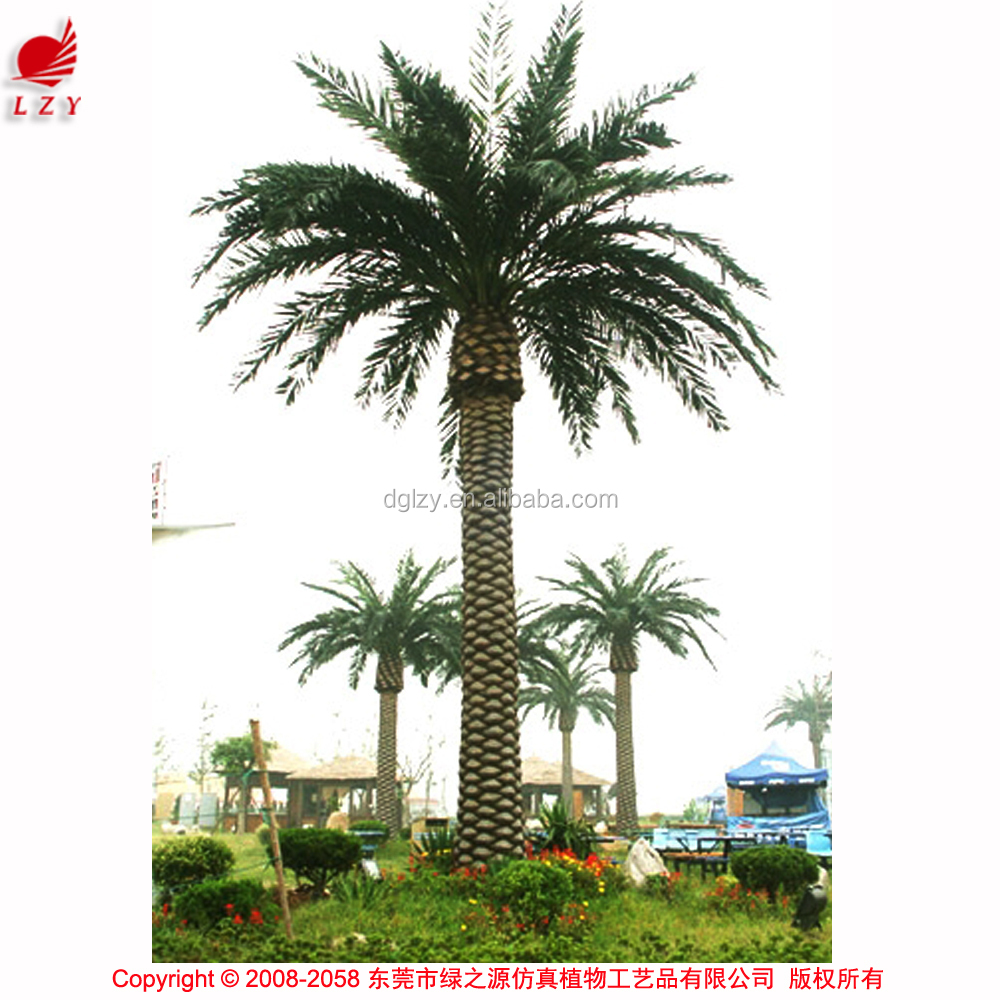 Large outdoor artificial trees everlasting artificial palm tree