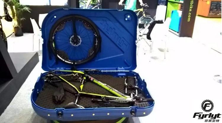 Fyrlyt Pe Hard Bike Case 29 Mountain Pocket Travel Bag