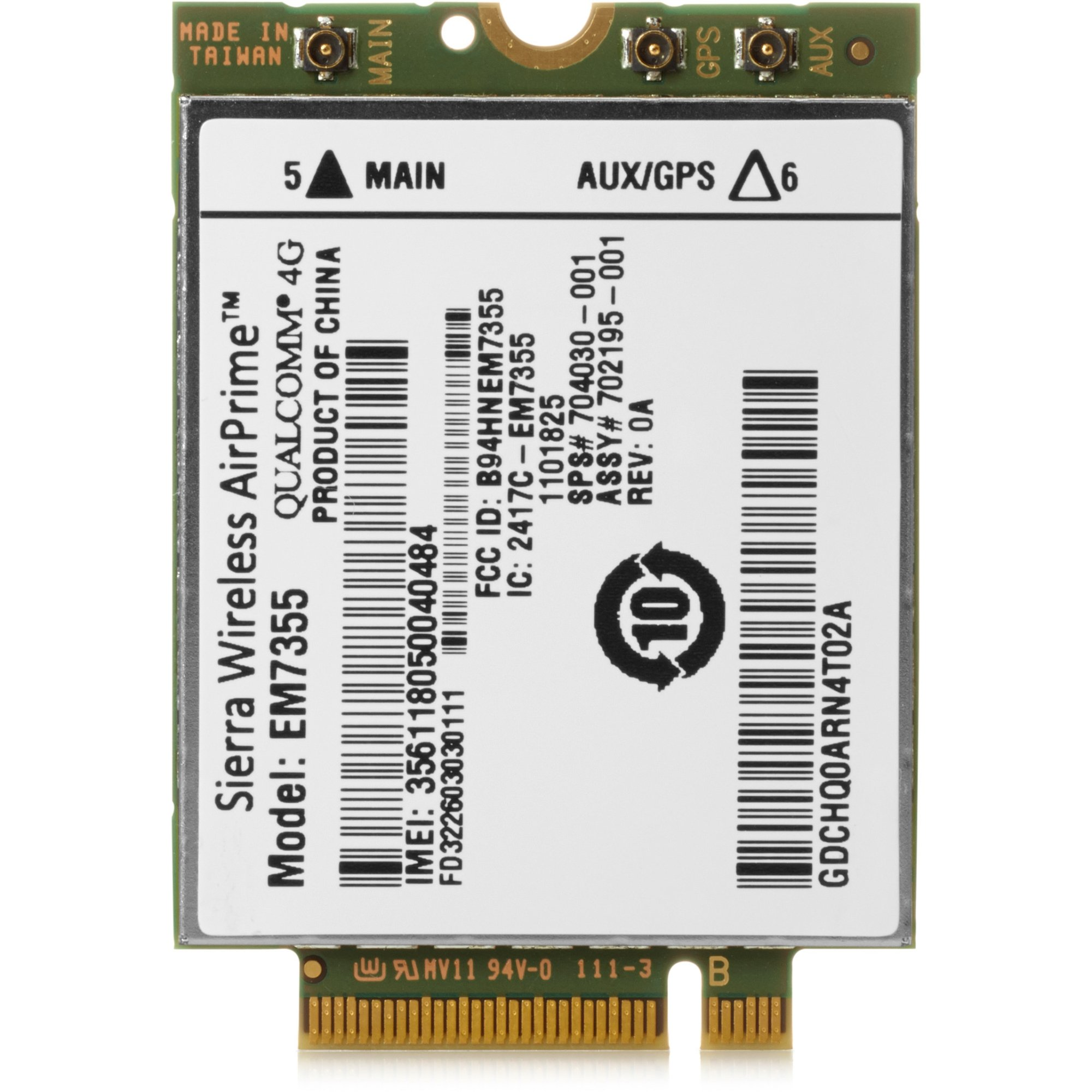 HP LT4111 E5M75AA 4G LTE Advanced WWAN 793116-001 746479-002 748021-001