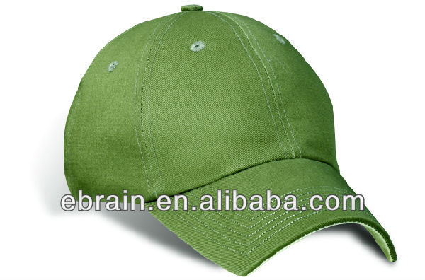 Chino Twill 100% cotton cap,contrast hockey stick inset cap