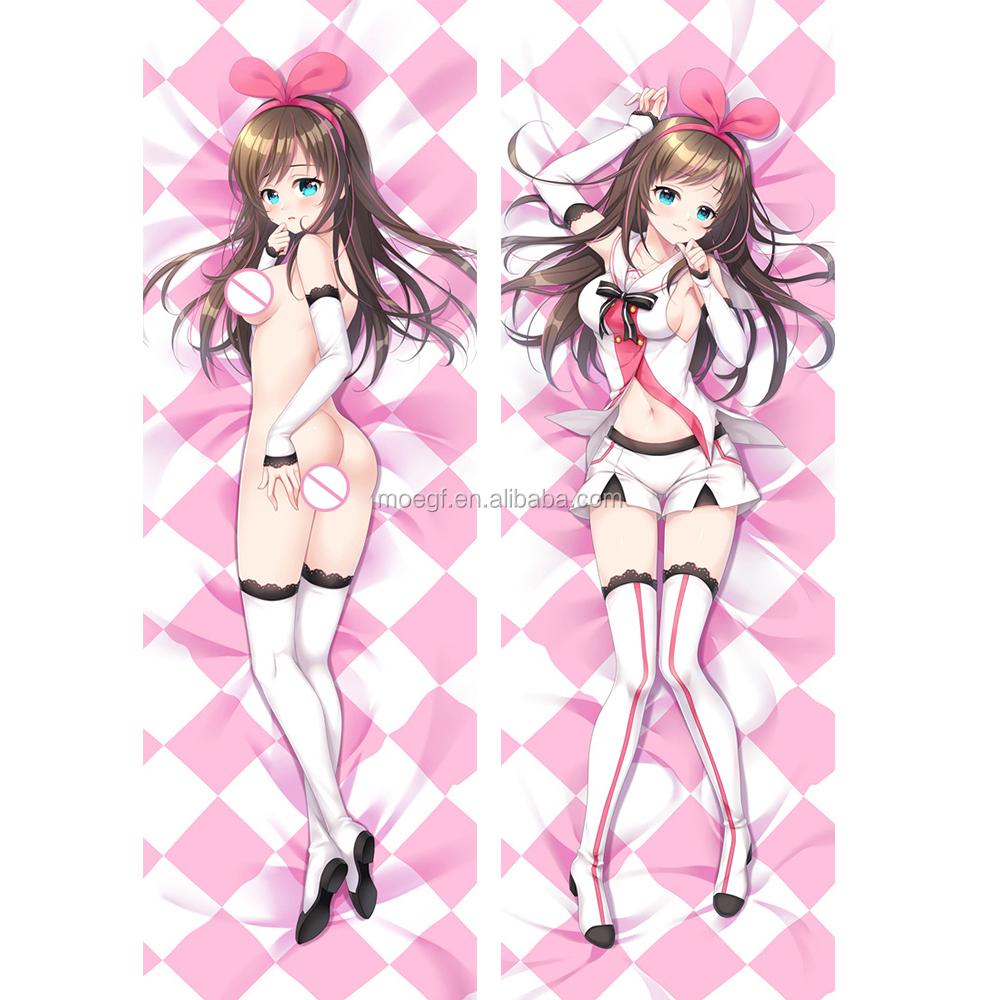 Moe Works Kizuna Ai 150cm Peach Skin Anime Pillowcase Full