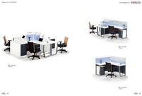 Modern Office Furniture Design Wood Panel Office Cubicle ...