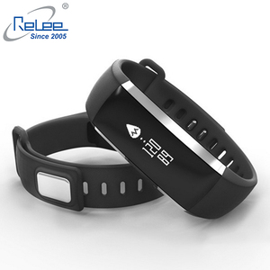 Blood Pressure Watch Smart Band Heart Rate Monitor Wristband Fitness Tracker for Smartphone Android iOS