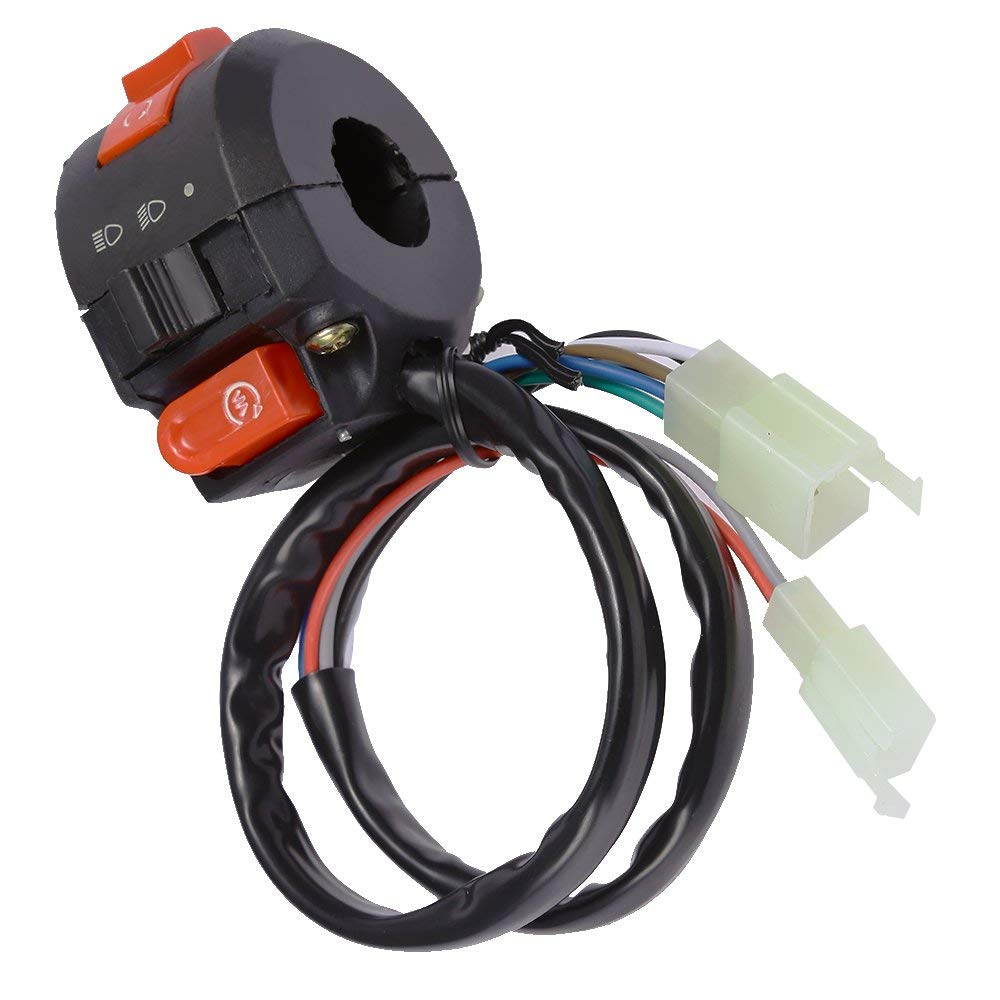 Cheap Chinese Atv Kill Switch Find Deals On China Made Wiring Get Quotations Start Left Handlebar Fits 2016 Taotao 125cc 110cc 9 Wires 2 Plug