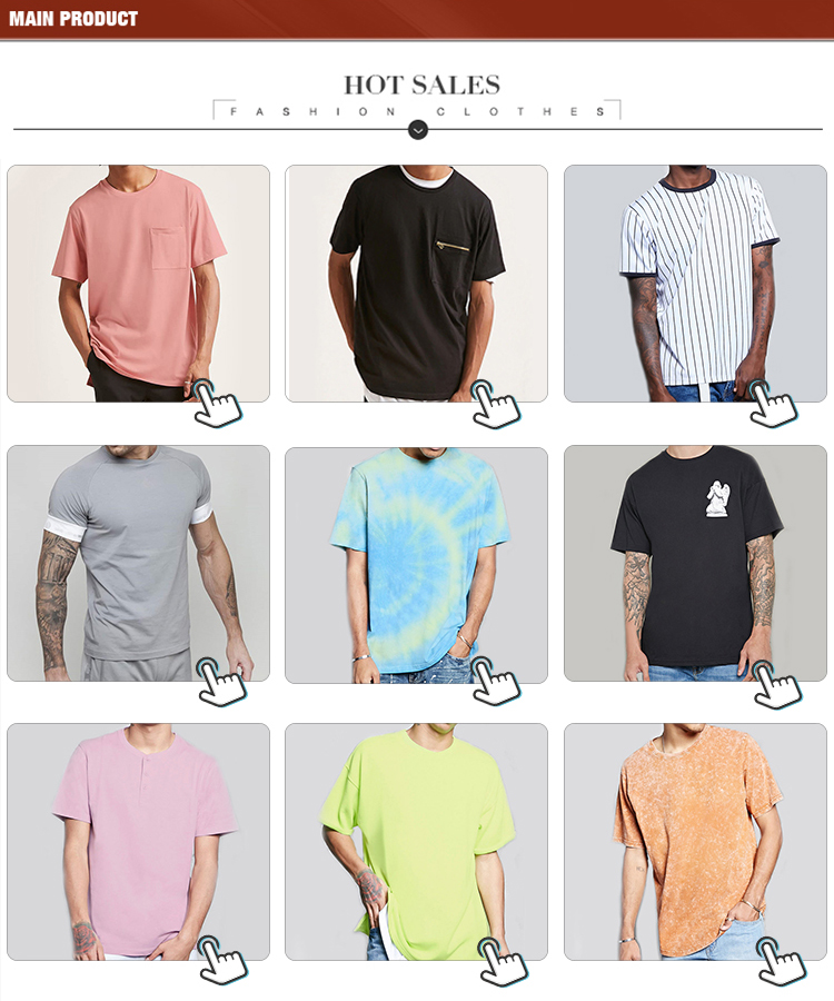 Хлопок slim fit высокое качество футболка оптом пустые футболки для мужчин