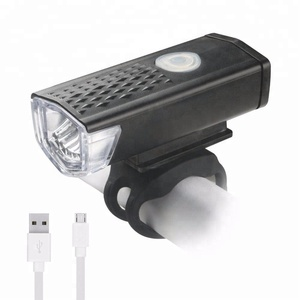 high power 400 lumen waterproof front bike 3 molds 4W rechargeable led bicycle lights