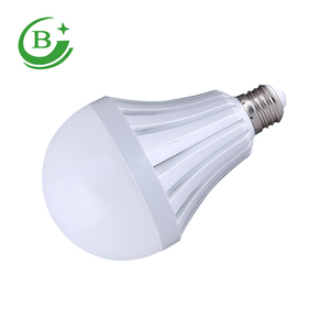 High lumen 5w 7w 9w 12w rechargeable emergency led bulb light with built-in battery