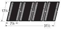 Music City Metals 60124 Matte Cast Iron Cooking Grid Replacement for Gas Grill Model Grand Hall CGT12ALP, Set of 4 by Music City Metals