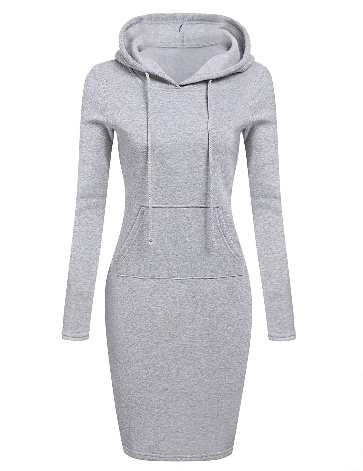 Dethler Hoodies Dress for Women Plus Size with Pockets Cool Womens Hoodies