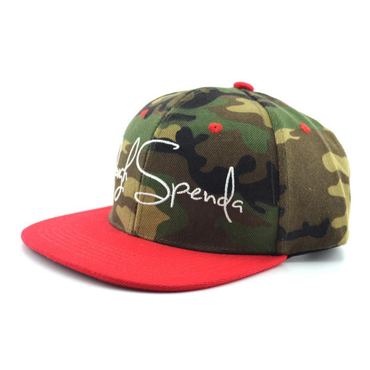37127eabd6f25 Hip-hop Custom Camo Snapback Hat Wholesale oem Embroidery Logo Snapback Cap  - Buy Custom Snapback Hat