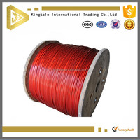 Kingtale Excellent Quality PVC Coated Ungalvanized Steel Wire Rope