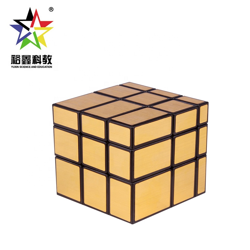 Black Gold Professional 3x3x3 Puzzle Irregular Mirror Cube With Multi Color Buy Mirror Cube Cube Puzzle 3x3 Cube Product On Alibaba Com