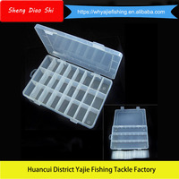 Small Fishing Gear Box 24 Boxes Fish Multi-Purpose Custom Tackle Boxes For Sale