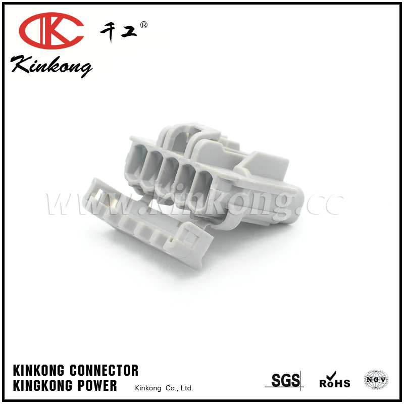5 way waterproof receptacle auto electrical connector