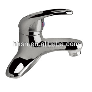 single handle zinc alloy basin water faucet
