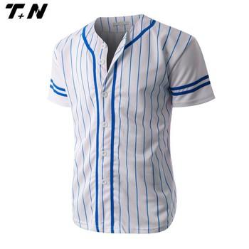 new product 1ef6b 78022 pinstripe baseball jersey wholesale