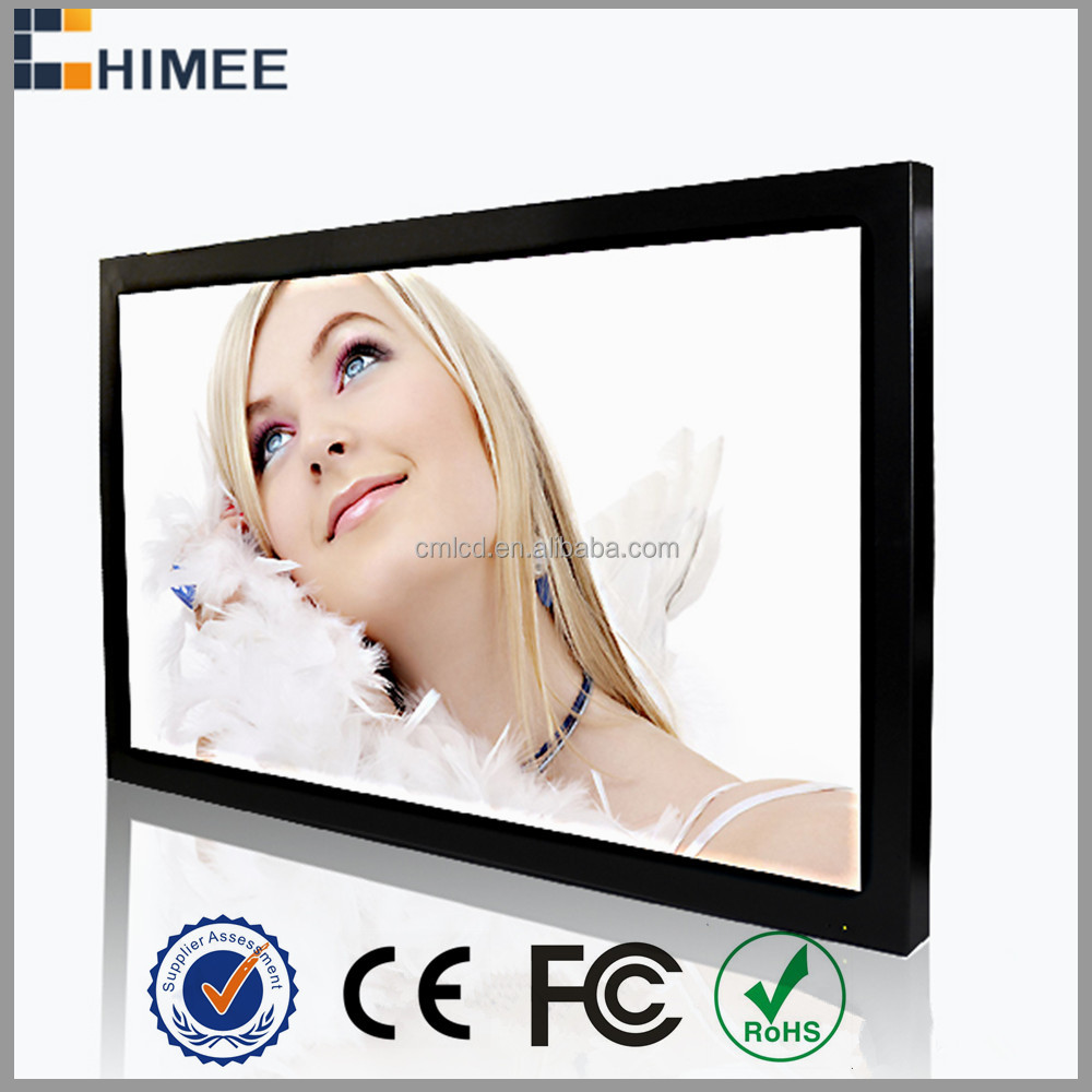 HQ55EW-1 55 inch led wall mounted full hd indoor video advertising players travel agent