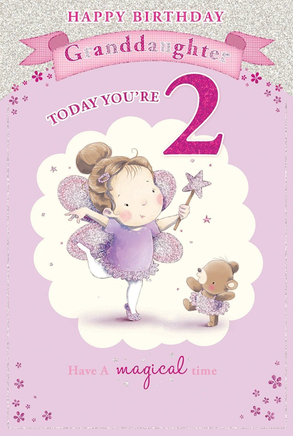 Candy Club Granddaughters 2Nd Birthday Card