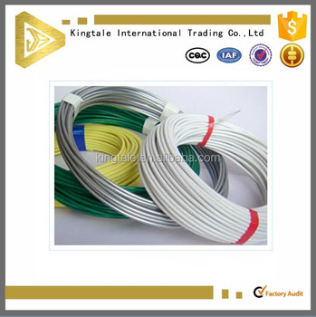 Nylon Coated Steel Wire/plastic Coated Wire Rope/pvc Coated Wire ...