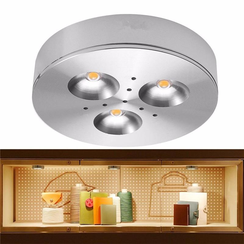 cabinet puck light 12v round bathroom cabinet light led view cabinet