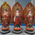 Fiberglass Resin Buddhism Decor Buddha Statues Sculpture