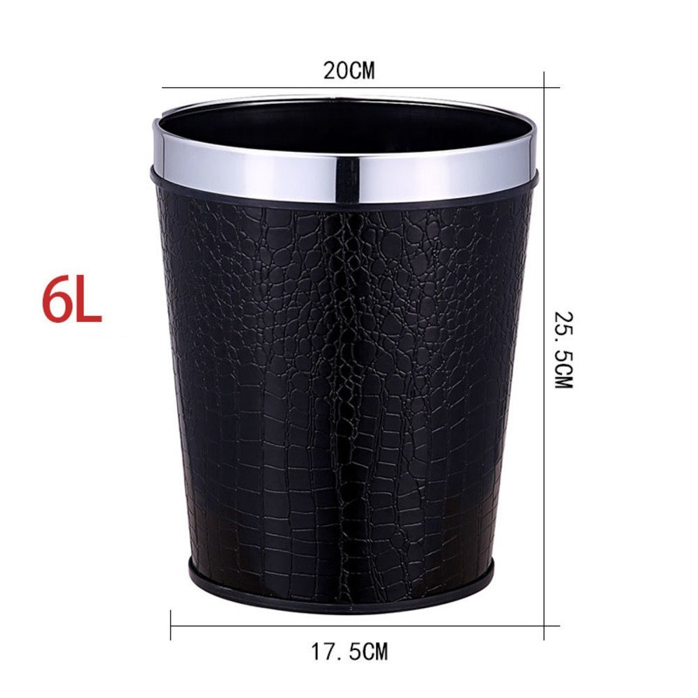 bin trash can garbage tondo top touch litre bedroom