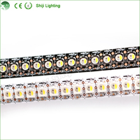 Flexible 144 pixel sk6812 high quality waterproof 5050 addressable rgbw digital led flexible strip light 12v