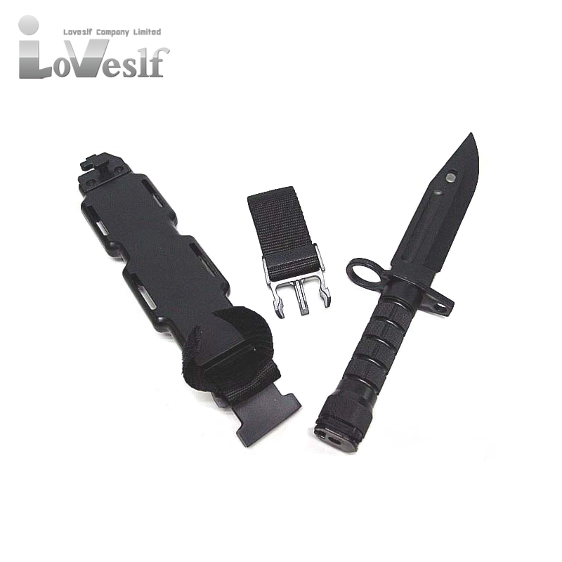 Loveslf military tactical <strong>knife</strong> M9 plastic high quality and best price wargame outdoor <strong>knife</strong>