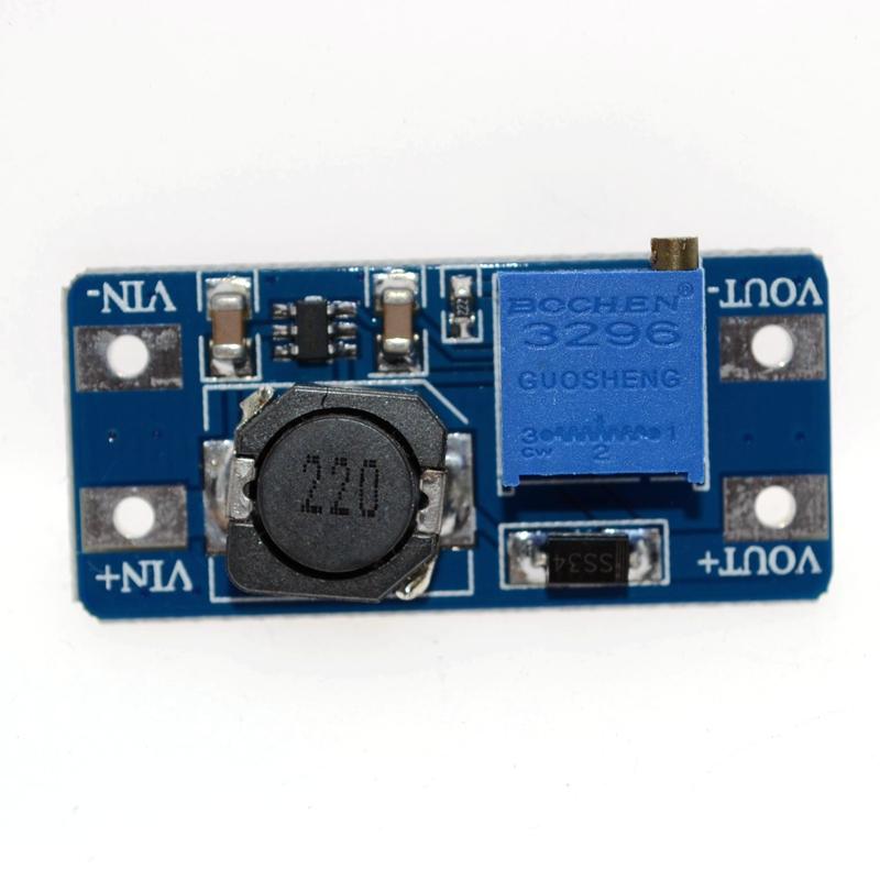 5x MT3608 2A DC-DC Step-Up Boost Modul Spannungswandler für Arduino Raspberry Pi