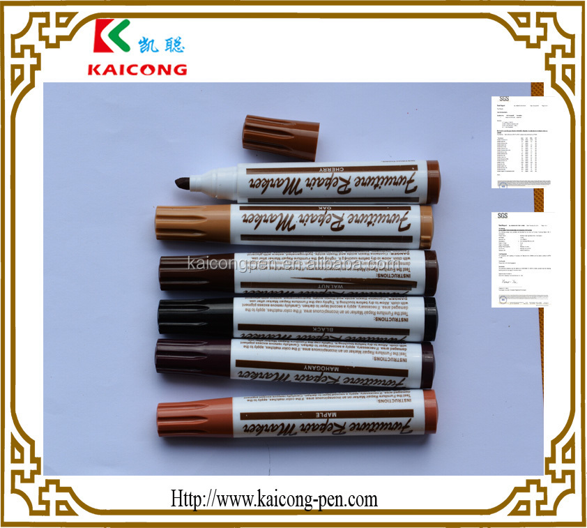 Repared Markers WOOD Furniture Touch Up Marker IPOSCA PAINT MARKER Decoink  Wood Marker Pen