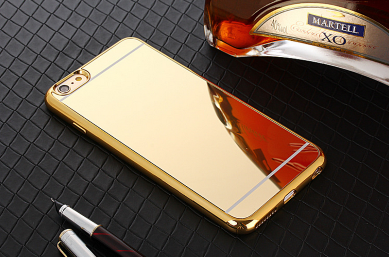 Flexible price mirror tpu plating phone case for i phone 7