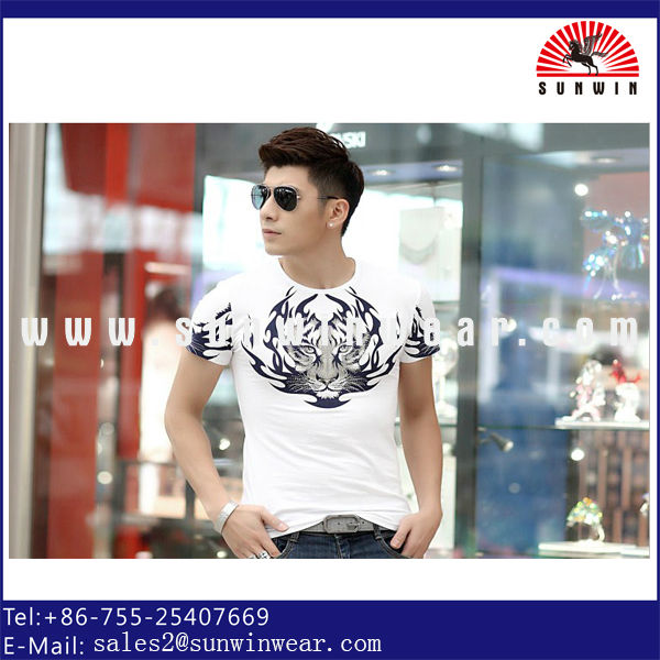 2014 Fashion Design T-shirt Stocklot In Bangladesh For Men ...