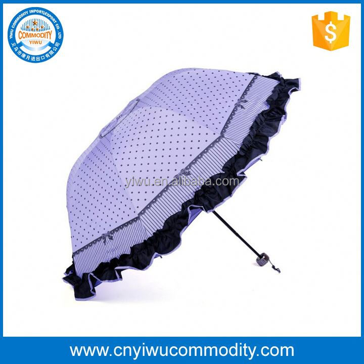 Cheap outdoor patio garden solar panel umbrella waterproof folding beach umbrella