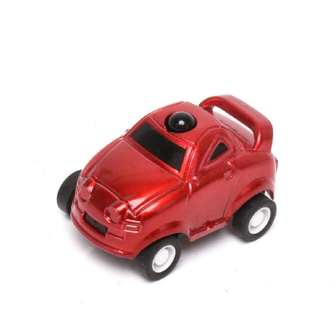 Naladoo Juguetes Para Niños Mini Christmas Ball Remote Control Car Kid Toy Gift 4 Batteries Red/Gold