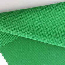 2016 new design Jacquard knitting cloth mesh dazzle fabric for garment and cloth/brushed mesh fbric