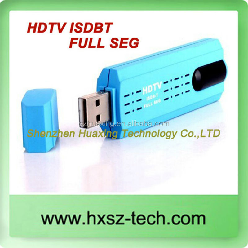 ISDB-T High Definition (HDTV) Digital TV on Computer USB HDTV Stick