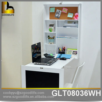 wholesale folding wall mounted study desk wooden. Black Bedroom Furniture Sets. Home Design Ideas