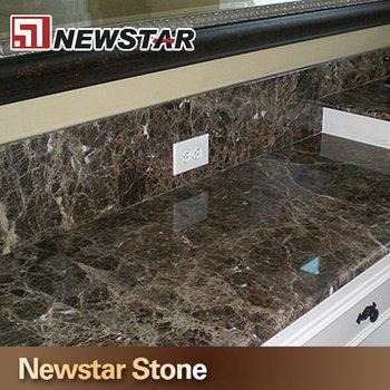 Newstar Polished Precut Dark Emperador Countertop Marble Countertop