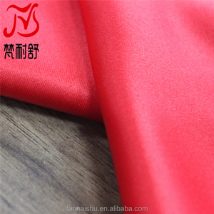 china products 100 polyester satin cloth material fabric for wedding dress bridal gown