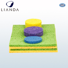 High Quality Cellulose sponge used to clean most of old dust and stain