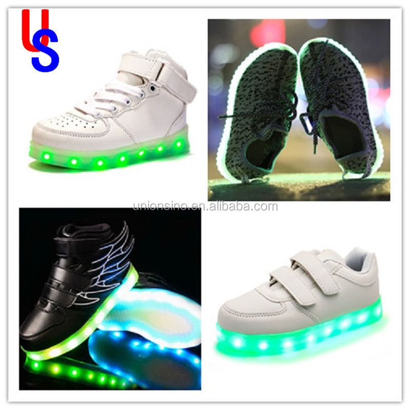 Good Quality fashion led light kids shoes of China could be without led