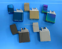 Colorful Double electric arc pulse electronic impulse lighter, USB Rechargeable windproof arc lighter