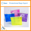 the newest zipper clear pvc cosmetic bag with high quality