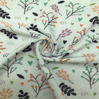 2018 High Quality Stretch Printed Polyester Spandex Yoga Wear Fabric for Sportswear