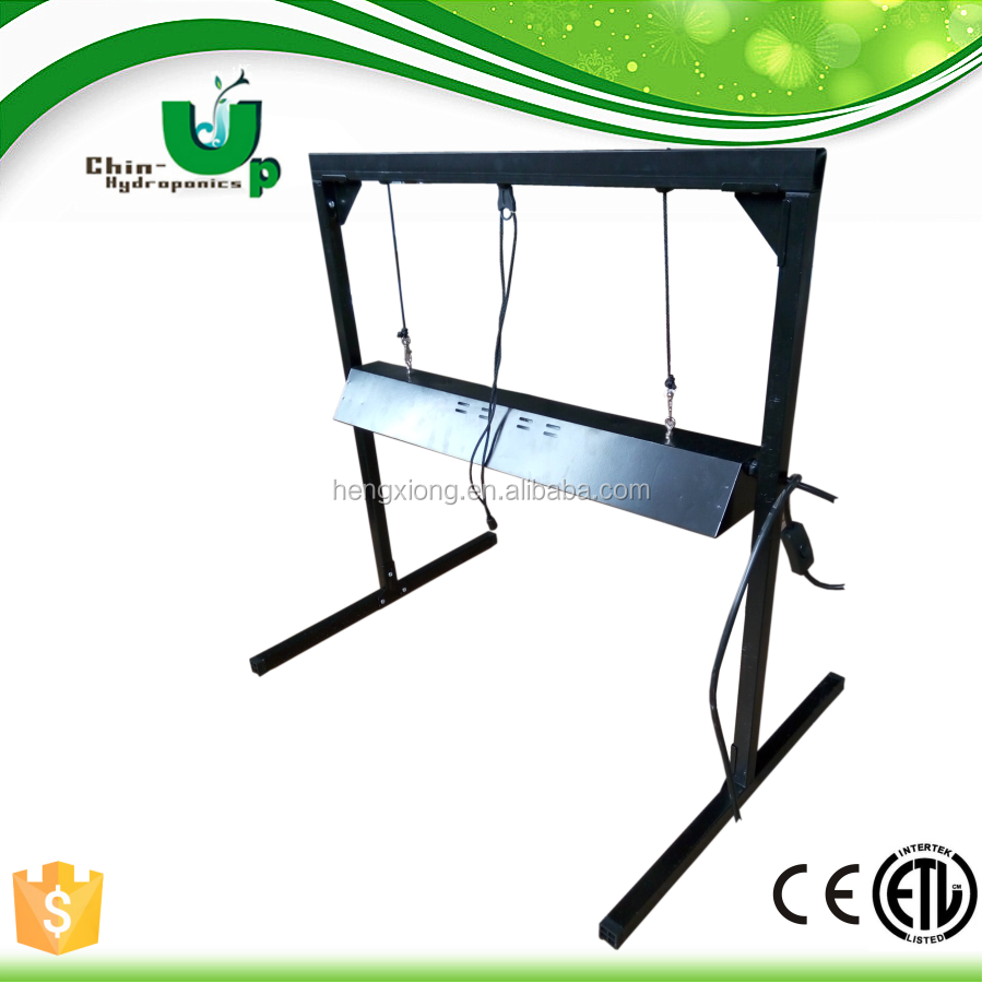 Hydroponics T5 8*54W fluorescent light fixture plant growing/ T5 stand for seed growing/ T5 light