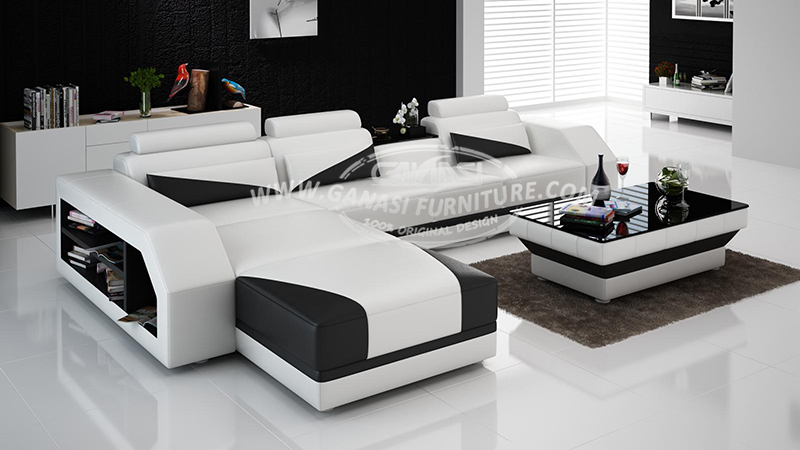 Heated leather sofa chaise arab modern grey real leather sofa genuine leather sofa set buy - Nieuwe home design ...